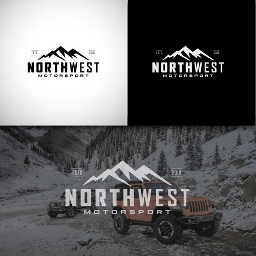 A bold logo for a Pacific Northwest based automotive retailer.