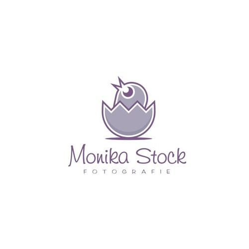 Logo design for mobile Photographer (Newborn & Families)