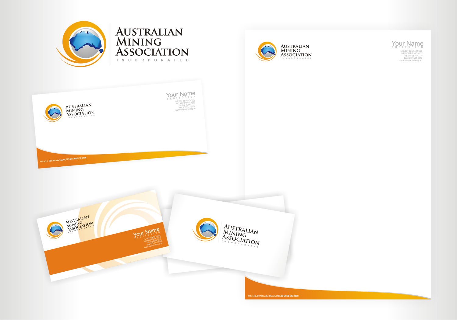 Create the next logo for Australian Mining Association Incorporated