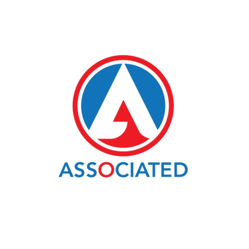 Modernized logo for Associated, leading independent Metro-NY supermarket chain