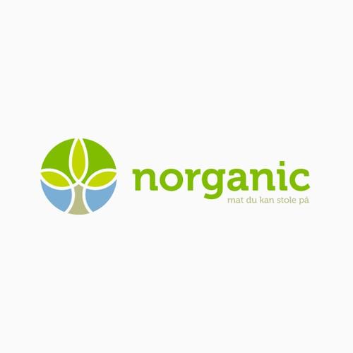 New logo for an organic company