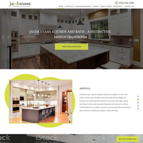 Design for a Kitchen & Bath Design house