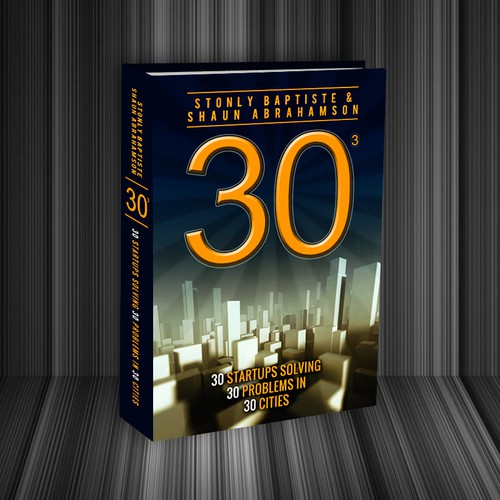Create book cover for tech entreprenuer