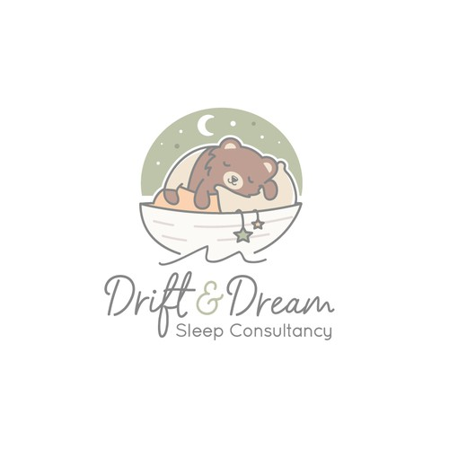 Cute logo for a sleep consultancy