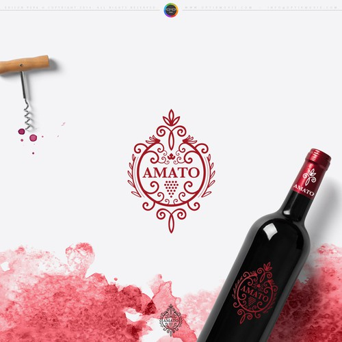 Amato Logo Design