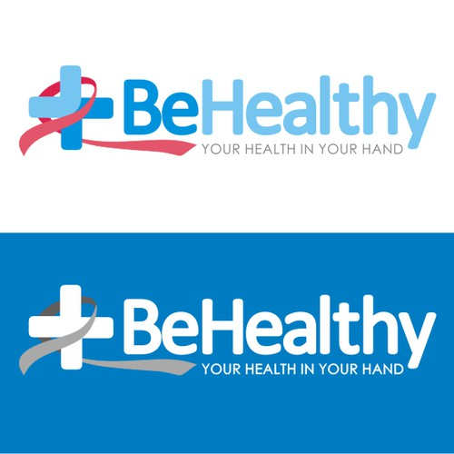 BeHealthy logo concept