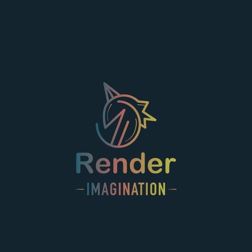 Logo for media company