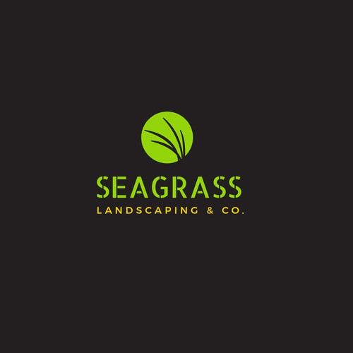Logo Design for Seagrass Landscaping
