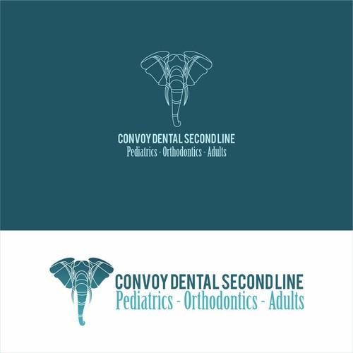 Logo concept for convoy dental