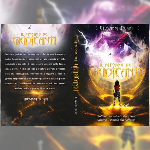 """Book Cover design for """"Il Ritorno dei Guidicante"""""""""""