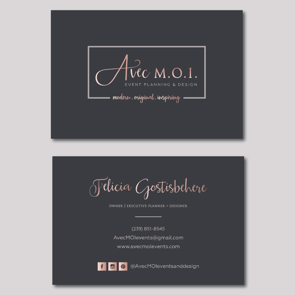 Logo for Luxurious Event Company