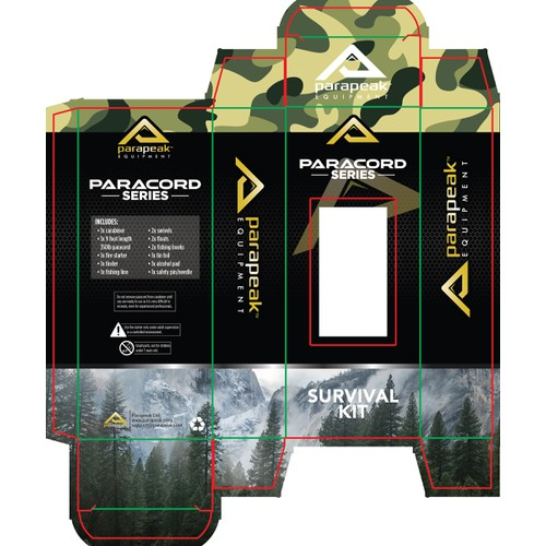 Packaging for Parapeak Equipments