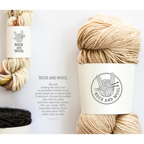 Rock and Wool is going to provide knit kits and yarn.