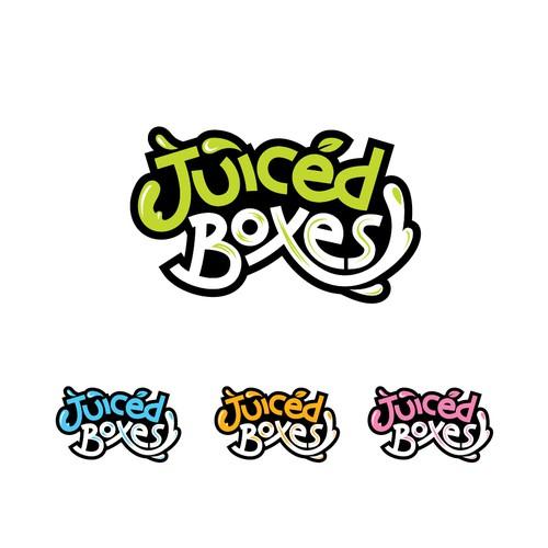 Juiced Boxes Wordmark Logo