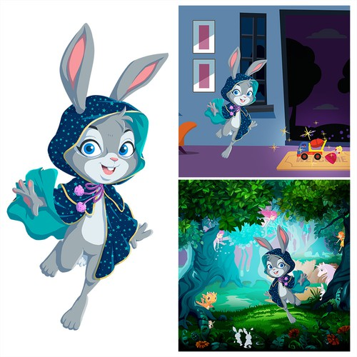 Magic Bunny Character