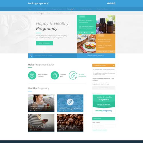 Pregnancy Related Website