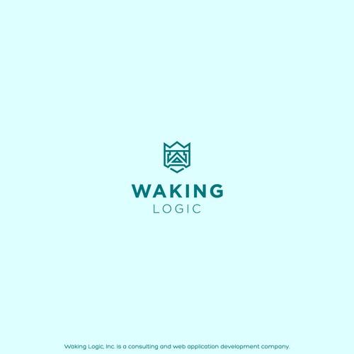 Logo for Waking Logic