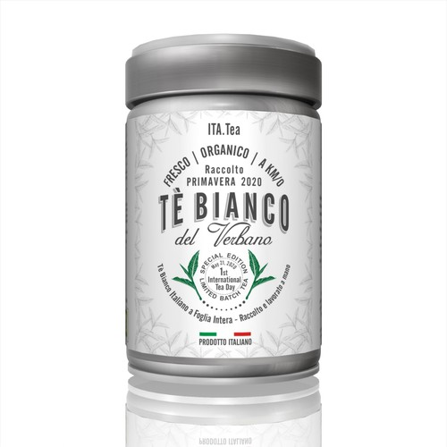 A label for the first all-Italian Tea