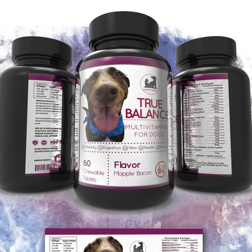 Packaging Multivitamins for Dogs