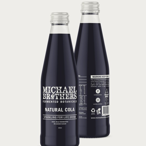Etiquette for Michael Brothers NaturalCola