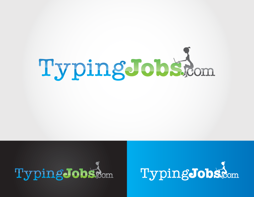 Help Typing Jobs with a new logo