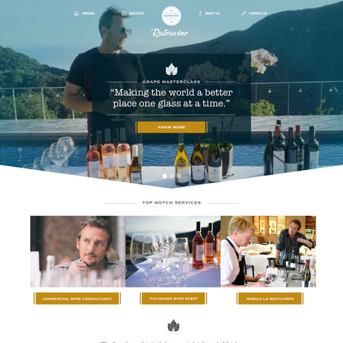 Wine Website entry