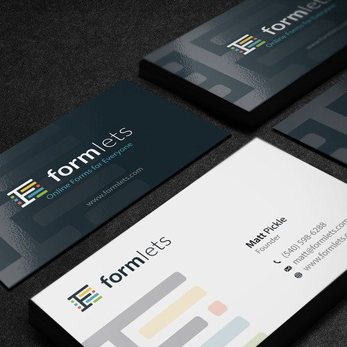 Business Card for Formlets