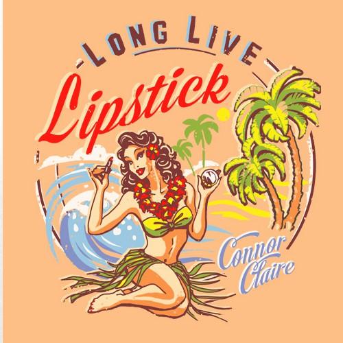T恤设计在复古夏威夷风格