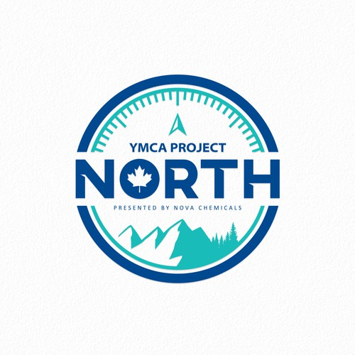 YCMA Project NORTH Logo