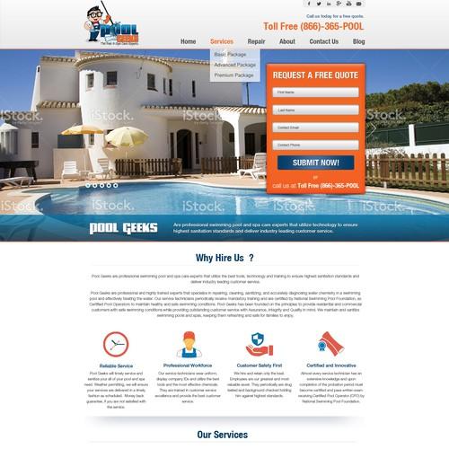 Geeky website, for Pool Geeks!!!!