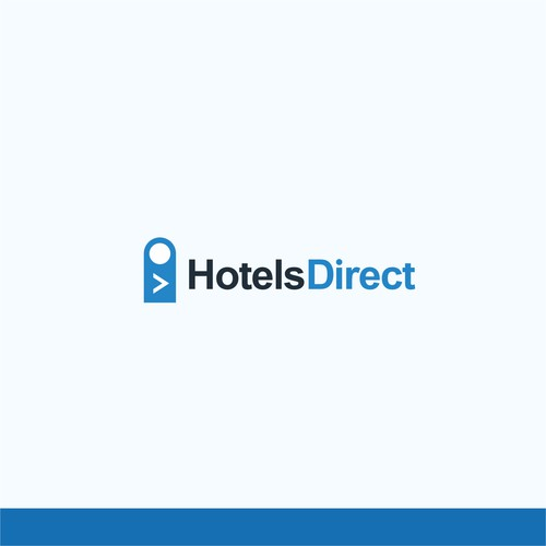simple logo for hotel booking apps