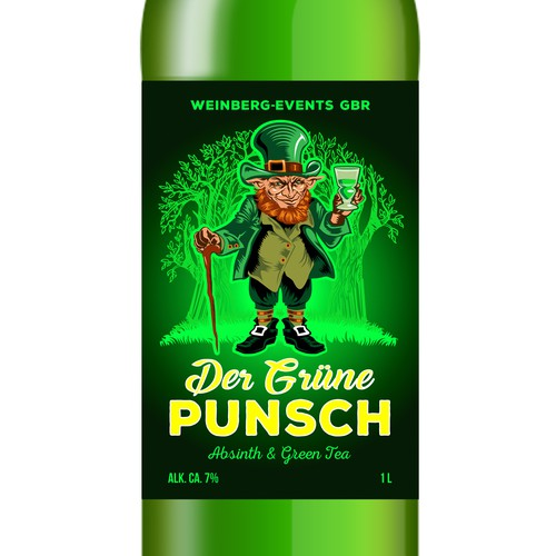 Label for Der Grüne Punsch