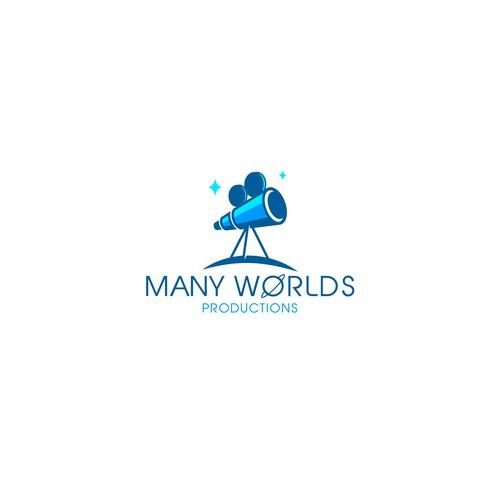 MANY WORLDS logo