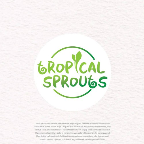 Logo For Online Tropical Plant Company