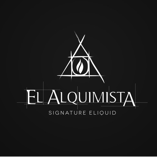 LOGO WITH UNIQUE SYMBOLS FOR A NEW ELIQUID BRAND