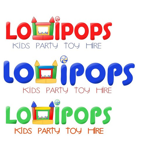 New logo wanted for Lollipops Kids Party Toy Hire