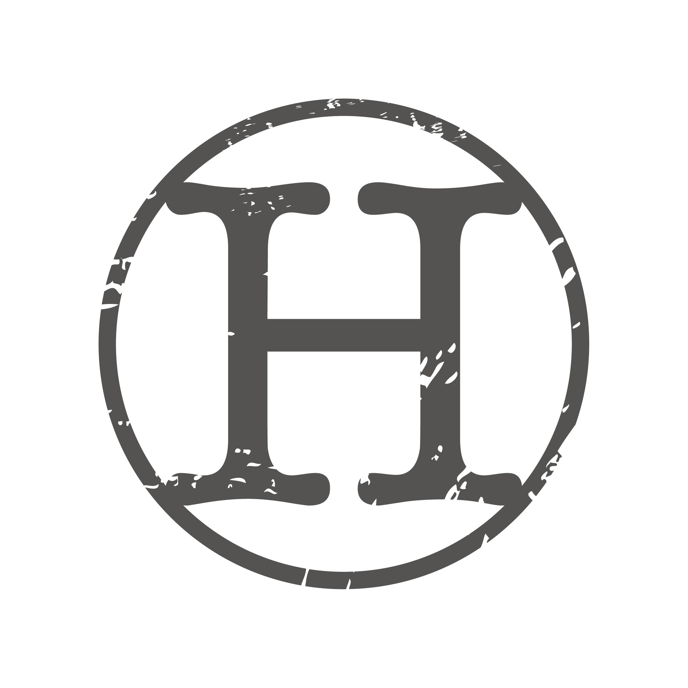 Design a historic district inspired logo for Hunter Homes & Decor
