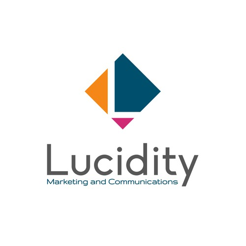 "Simple and elegant design for ""Lucidity Marketing and Communications"""