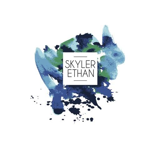 Create a sleek modern logo for abstract artist