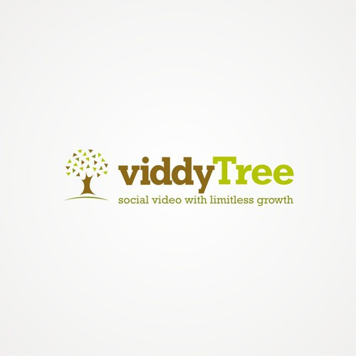 MORE $$$$ TOMORROW for Sleek/Savvy social video agency logo- ViddyTree