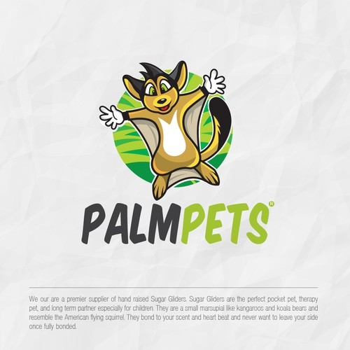 Palmpets logo