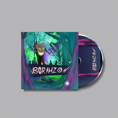 illustration for cover album BoRahZon