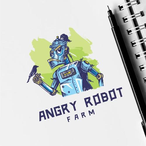 angry robot farm