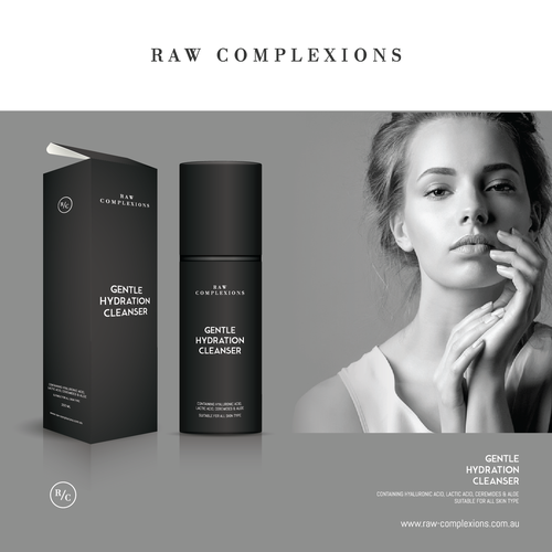 LUXE COSMETIC SKINCARE PACKAGING DESIGN