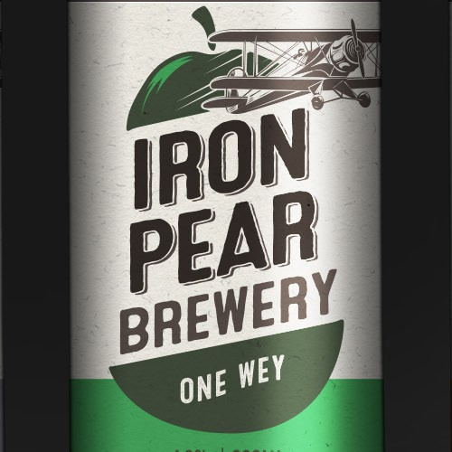 Iron Pear Brewery labels