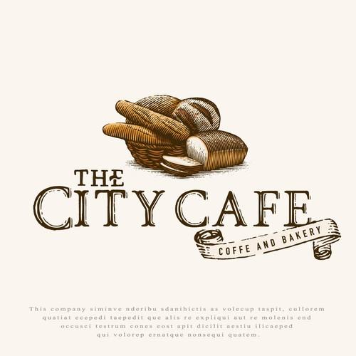 Logo for The City Cafe.