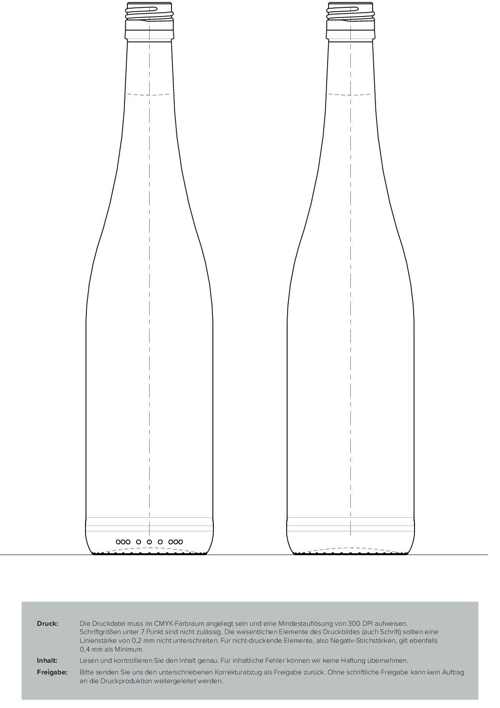 Direct Inkjet Printing on a wine bottle