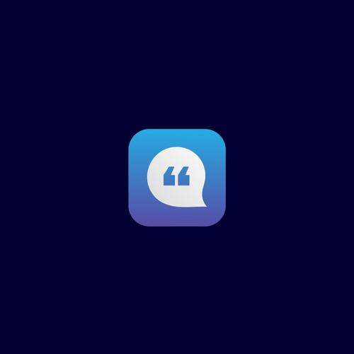 quote app icon