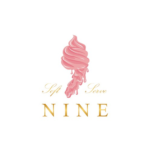 Logo design for small ice cream business