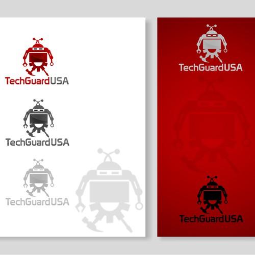 Create the next logo for TechGuardUSA